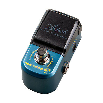 Artist MP108 Tight Squeeze Compressor Micro Guitar Effects Pedal - New