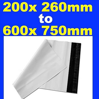 100 x NEW Poly Courier Bag Mailer Mailing Satchels