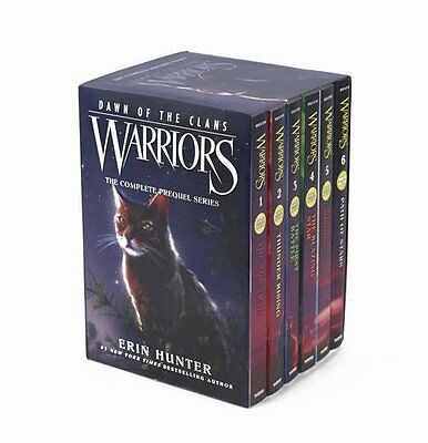 Warriors: Dawn of the Clans Box Set: Volumes 1 to 6 by Erin Hunter [Paperback]