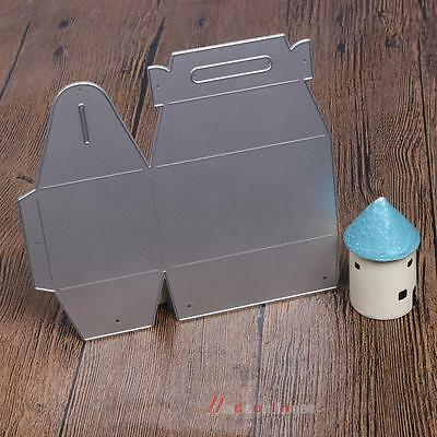 Gifts Box Embossing Cutting Dies Stencils for DIY Scrapbooking Photo Album Craft