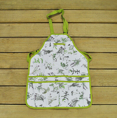 Gardening Apron With Herb Design By Fallen Fruits