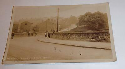 Woodley Postcard Nr.stockport Real Photo 1907 Cheshire Roman Series