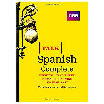Talk Spanish Complete Book/CD Pack 2nd Revised Edition By Inma Mcleish Paperback