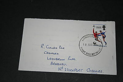 1966 England World Cup First Day Football Cover -  Winners 18 8 1966