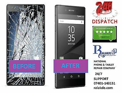 Sony Xperia Z5 LCD Screen Glass Replacement - 24 HOUR REPAIR SERVICE