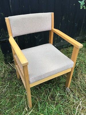 Easy Armchair Chair Dining Hallway Bedroom Office Upcycle Project Extra Seating