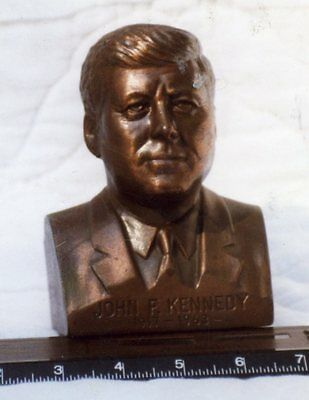 John F. Kennedy- Bank or Book End