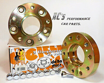 Hubcentric Wheel Spacer Kit - 25mm x 2 + 10 Bolts - BMW - (618)