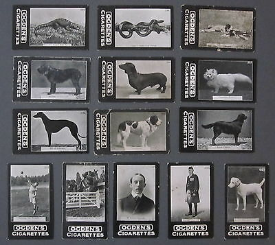 14 1902 Ogden Tabs Cigarette Cards General Interest 'c' (301-350) Misc. Subjects