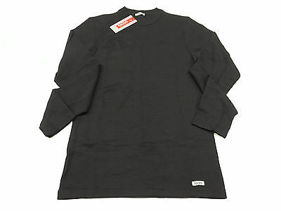 RAGNO Long sleeve crew-neck black wsk