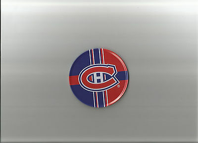 Montreal Canadiens Metal On Cork Bar Coaster