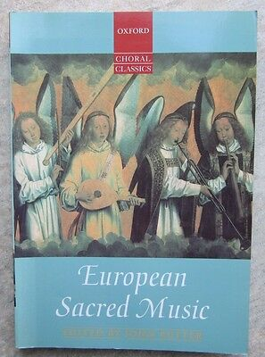 European Sacred Music for SATB published by Oxford *NEW*