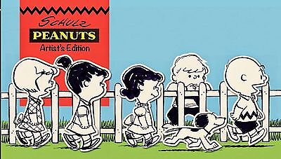 Peanuts Schulz Artist Edition Collector's Book (hardcover)