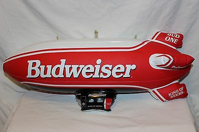 """BUDWEISER Beer Advertising Inflatable BUD ONE AIR SHIP 22"""""""