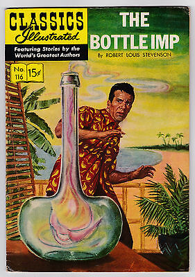 Classics Illustrated # 116 (HRN 117) The Bottle Imp (VF)
