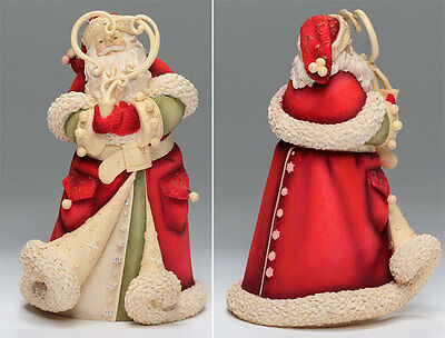 "Enesco Heart of Christmas Deluxe Santa ""Jolly Ol Soul"""