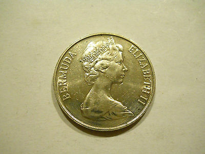 About Uncirculated 1978 50 Cents - Bermuda