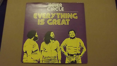 """Inner Circle. Everything Is Great / Ewanted Dead Or Alive. 7"""" Pic Sleeve."""