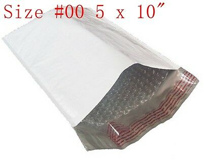 """20 pcs 5 x 10""""  Poly bubble Mailers Shipping Padded Envelope Bags, #00PBM"""