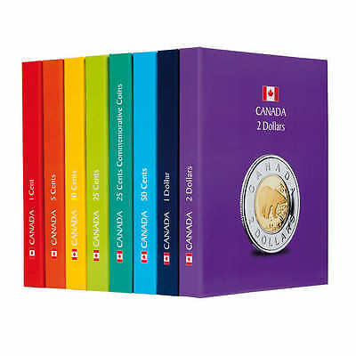 Canada Collectible Coin Album Color Assortment Set of 7 [New]