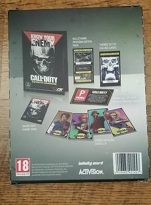 COD Call Of Duty Infinite Warfare Know You Enemy Pack DLC Codes NO Game Included