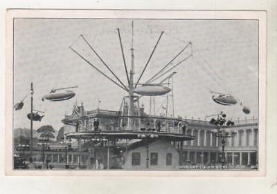 FAIRGROUND RIDE JJK Postcard Venue believed to be BLACKPOOL *