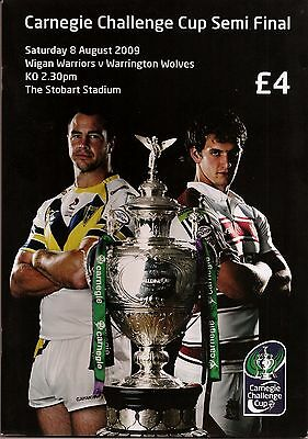 CHALLENGE CUP SEMI FINAL 2009 WIGAN v WARRINGTON MINT