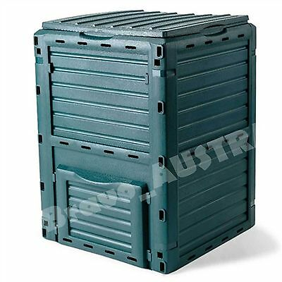400L Compost Bin Garden Recycling Composter Aerator Aerated Food Waste