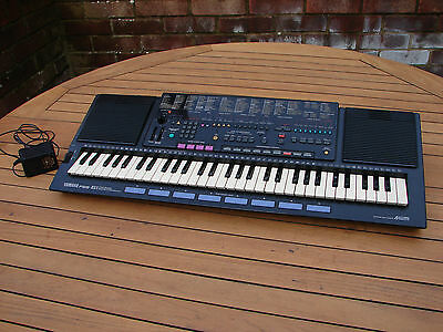 Yamaha PortaSound PSS-51 Vector Synthesizer Keyboard Track Sequencer Drum Pads