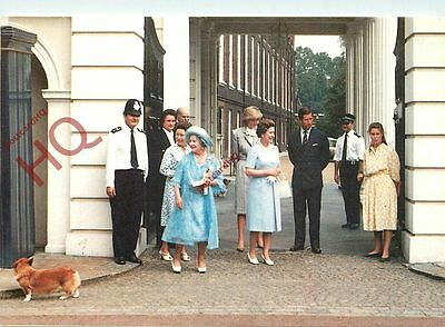 Postcard: BRITISH ROYAL FAMILY, CLARENCE HOUSE