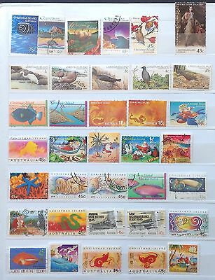 Christmas Island Fine Used Stamps (100 stamps)