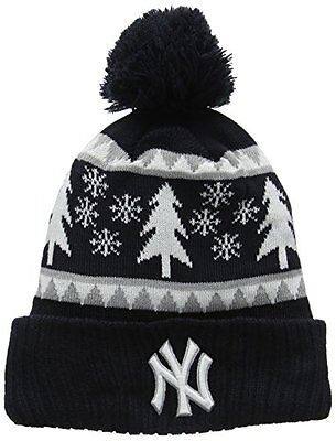 (TG. ONE SIZE FITS MOST) Navy New Era Team Snow Pine Bob Neyyan Otc - Berretto L