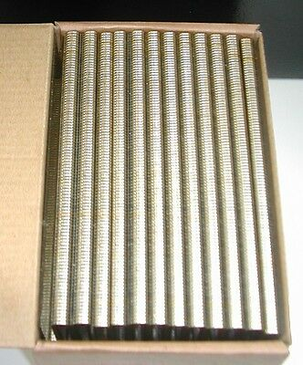 "1/4"" Inch Narrow Crown Staples 18 gauge 1-1/2"" Inch Long (5,000 pcs) GALVANIZED"