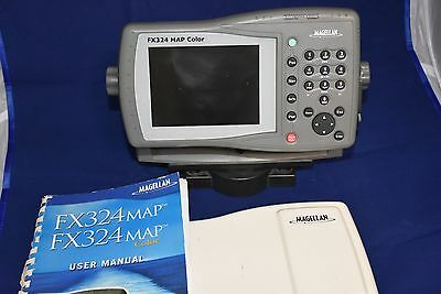 USED Magellan FX324 MAP Color 5.3 Inch Waterproof Marine GPS and Chartplotter