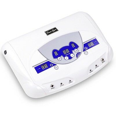 Pro Ion Ionic Cell Detox Foot Bath SPA Machine Dual User Mode Mp3 Music Player