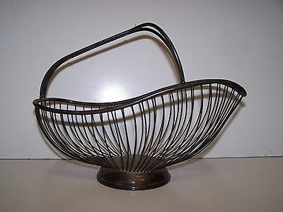 VINTAGE wire  BASKET HOME & GARDEN,STORAGE