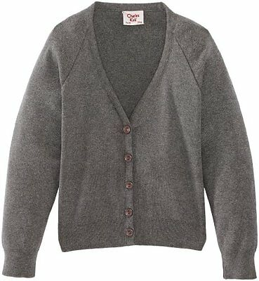 Grigio (Medium Grey) (TG. C34 IN- UK) Charles Kirk Coolflow - Cardigan, unisex,