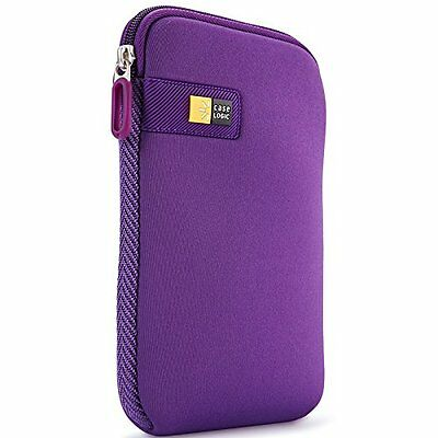 "Case-Logic LAPST-107PP Sleeve in Neoprene per Tablet da 7"", Viola"