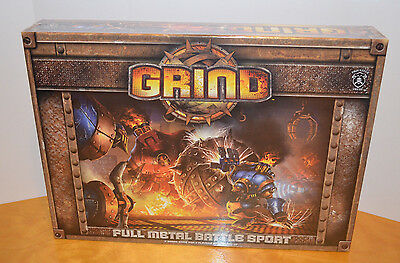 Grind Board Game Privateer Press Warmachine Miniatures New Sealed Misb Strategy