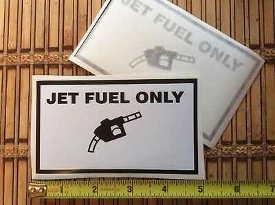 Aircraft Wing Jet Fuel Only  Fill Point Decals Gama