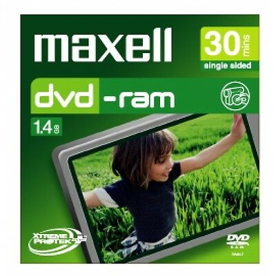 Maxell - 8cm Camcorder DVD-RAM 30min 1 Pack Jewel Case