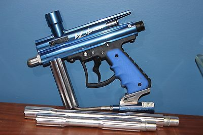 Orion VL ViewLoader Paintball Marker - Blue - With Two Barrels