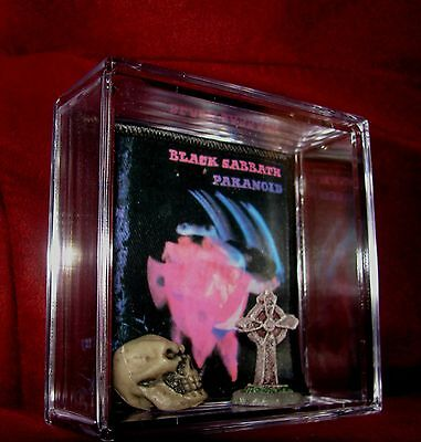 Black Sabbath Collectable Patch Display *as Is (Look At Pics).grt Gift Idea
