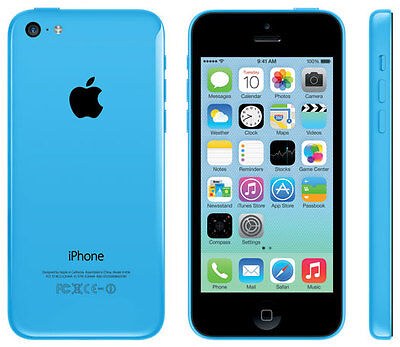 Apple iPhone 5C - 16GB - Blue (SaskTel) Smartphone