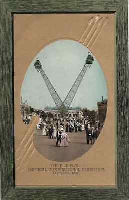 The Flip-Flap, Imperial International Exhibition London 1909 not posted