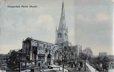 Chesterfield Parish Church posted 1908