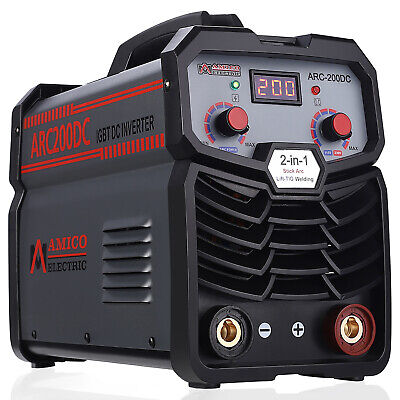 S160AM, 160 Amp Stick Arc DC Inverter Welder 115/230V Dual Voltage Welding New