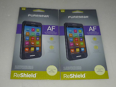 100x NEW IN BOX CELL PHONE PUREGEAR HTC ONE MAX HD RESHIELD SCREEN AF 60476PG