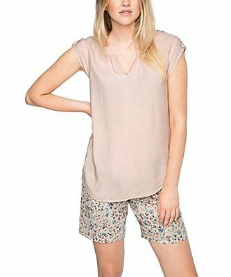 Rosa (LIGHT PINK 690) (TG. 44) ESPRIT 066EE1F001-Structured, Camicia Donna, Rosa