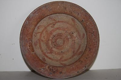 GOOD ANCIENT GREEK HELLENISTIC POTTERY PLATE 4th CENTURY BC